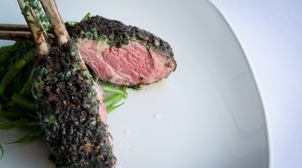 Spasso - New Zealand Lamb Chops black truffle crusted and a fresh thyme reduction 20