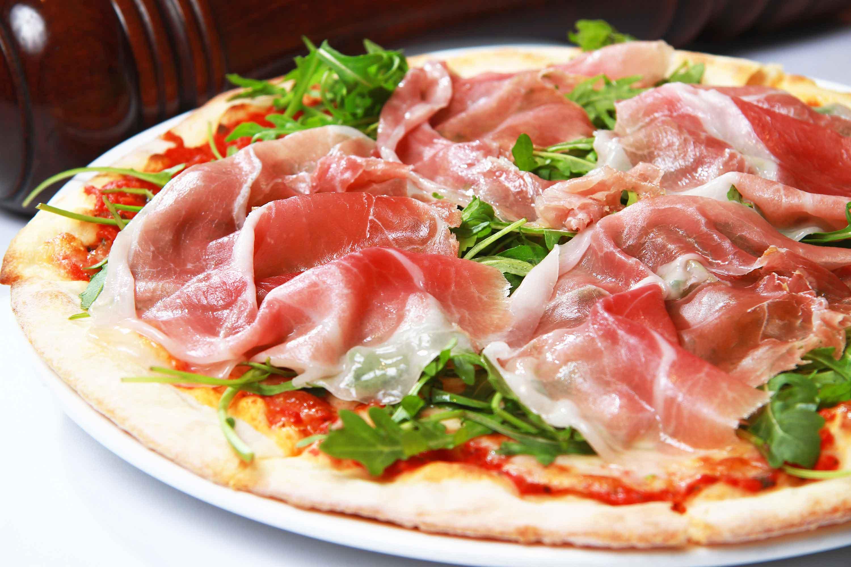 Carpaccio - Parma ham pizza