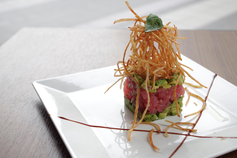 DiVino Patio - Layered maguro tuna and avocado tartar