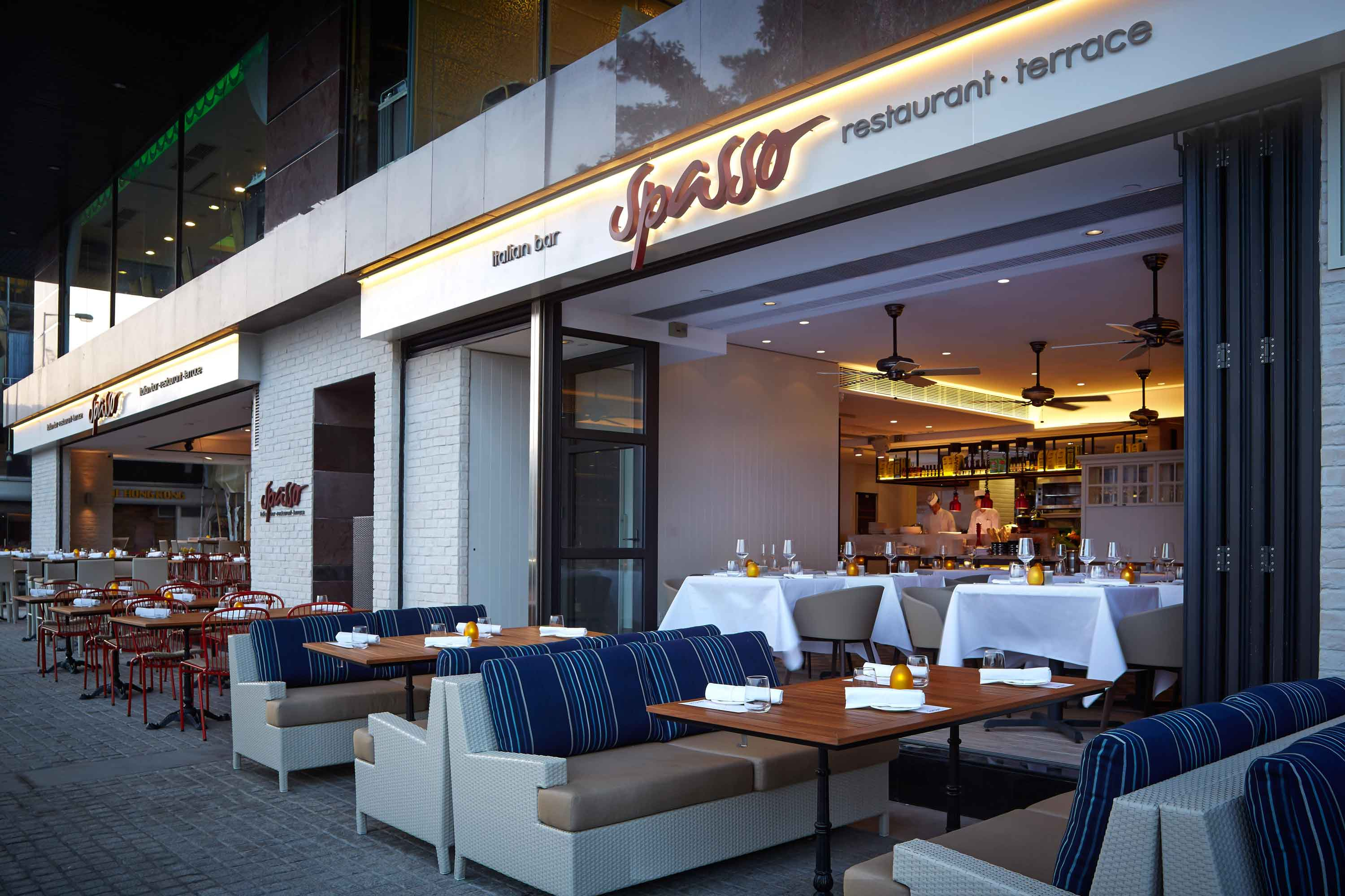 Spasso unveils al fresco terraces for a stylish dining experience boasting stunning views of Hong Kong's skyline