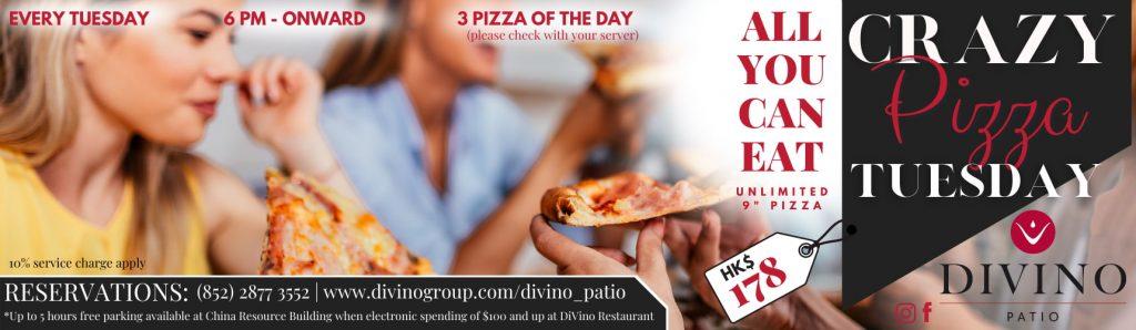 Crazy Pizza Night Divino Patio