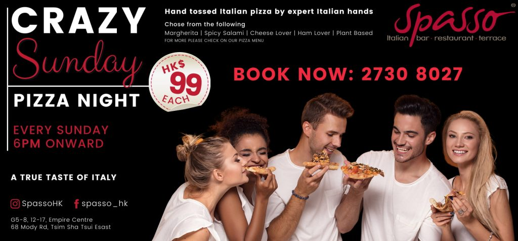 Crazy Pizza Night Spasso