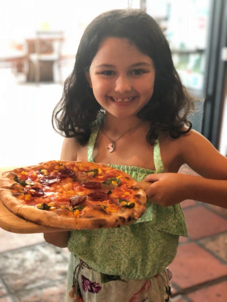 Kids Make Pizza at DiVino Patio Hong Kong Pizzeria and Restaurant 9